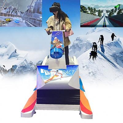 겨울스포츠의 꽃!- VR스키 시뮬레이터 / VR 스키어트렉션 (VR Skiing Simulator Game Machine)