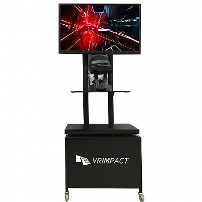 [VR행사렌탈대여] 일체형스타일 VR행사용 부스(모니터포함-32인치형)